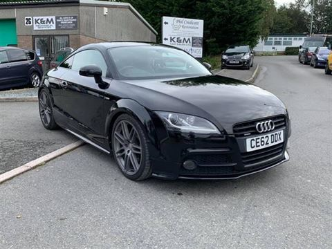 Used Car for sale by K and M Car Sales Ltd - 2012 Audi TT 2.0 tdi black edition