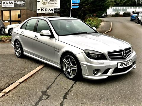 Used Car for sale by K and M Car Sales Ltd - Mercedes-Benz C Class 6.3 C63 AMG 7G-Tronic 4dr