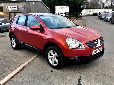 Used Car for sale by K and M Car Sales Ltd - Nissan Qashqai 1.6 Acenta 2WD 5dr