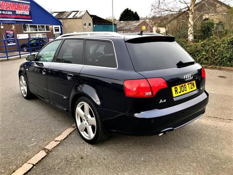 Used Car for sale by K and M Car Sales Ltd - 2008 Audi A4 Avant 2.0 TDI S line, Rare colour, Nice Spec