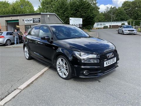Used Car for sale by K and M Car Sales Ltd - Audi A1 2.0 TDI Black Edition Sportback 5dr